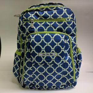 Ju-ju-be Backpack Diaper bag Be Right Back Royal